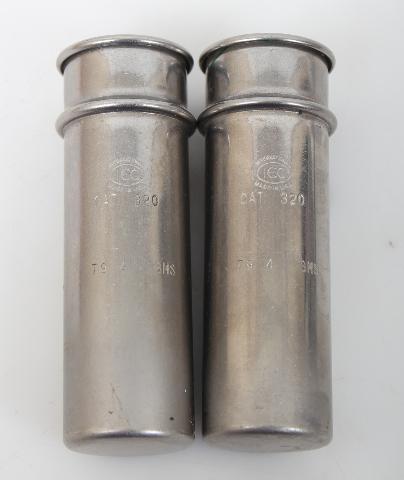 2 Weight Matched 50ml IEC Centrifuge Shield Cat 320 79.4g