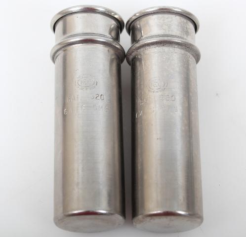 2 Weight Matched 50ml IEC Centrifuge Shield Cat 320 64.6g