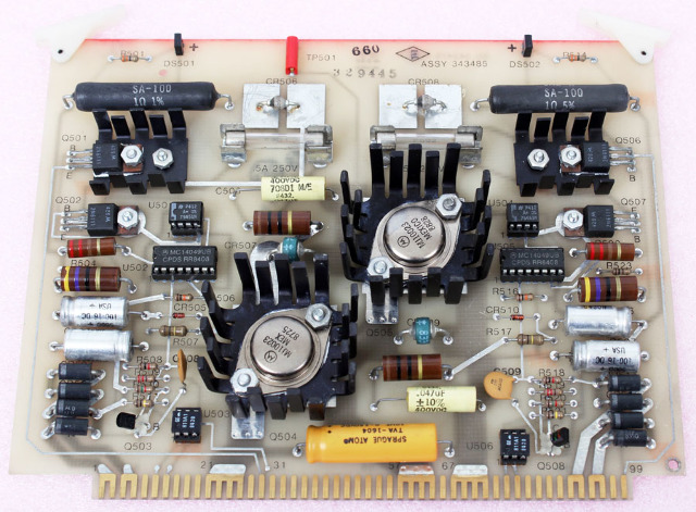 Beckman Switch Driver Board for L8-M Ultracentrifuge, P/N 343485