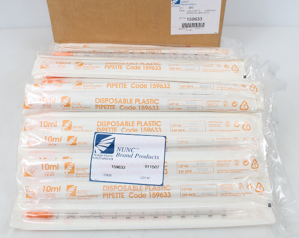 Case of 200 BD Falcon 2 mL Disposable Aspirating Pipet 357558