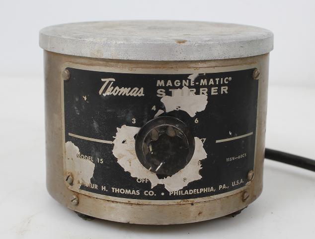 """Thomas Scientific Model 15 Magne-Matic Stirrer 5"""" Top"""