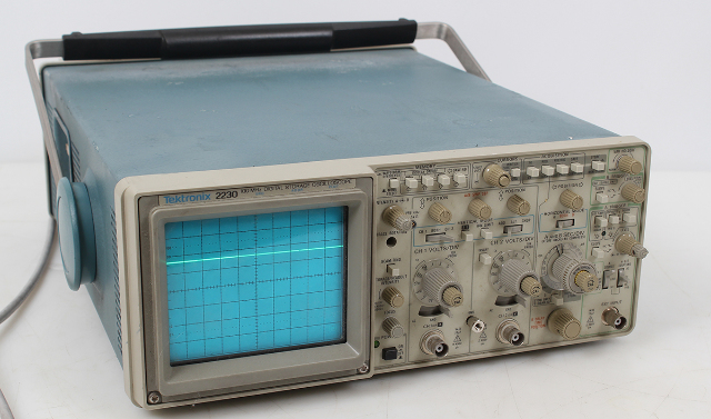 Tektronix 2230 2 Channel GPIB 100 Mhz Digital Storage Oscilloscope