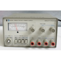 HP/Agilent 6235A Triple Output 0-18V DC Power Supply - Tested -