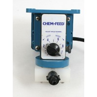 Cole Parmer Chem Feed Solenoid Diaphragm Pump 50000-075