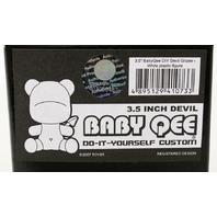 "Devil Grizee Baby Qee Toy2R DIY 3.5"" White Baby Qee"