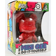 "Melting Bear Toy2R DIY 5"" Mini Qee -Red Edition-"