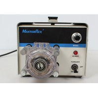 Cole Parmer Masterflex Reversible Variable Speed Peristaltic Pump 7520-35 with 7013-72 Head