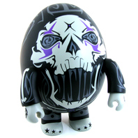 "Circus Punks Toy2R 8"" Deviled Egg Qee - Grey Variant by Jim Koch"