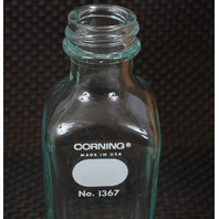 Lot of 5 Corning Pyrex 160mL Narrow Mouth Milk Dilution Bottle 1367-160
