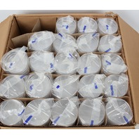 Lot of 440 100x15mm FisherBrand Sterilized Petri Dishes with Clear Lids 875712