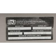 Complete! Hoefer Drygel Sr Slab Gel Dryer SE1160