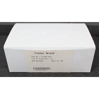 New  Box of 100, FisherBrand 5.0 ml Dispenser Tip 13-683-61D