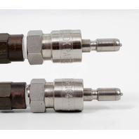 Bimba Flat-1 Pneumatic Air Cylinder FO-09-0.5-SA w/ 2x Swagelock Tips