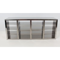 """New! Stainless Steel Cryogenic Upright Cryo Rack for 2"""" Boxes URO-442"""