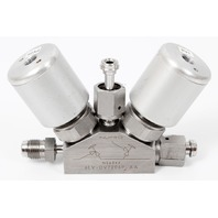 Swagelok Nupro AMAT 6LV-DV7206P-AA Dual Bellows Flow Valve Stainless Steel