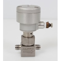 Swagelok NUPRO Stainless Steel Bellows Sealed Valve Normally Closed SS-4BK-1C