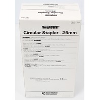 Power Med SurgASSIST CS25 Circular Stapler 6x Digital Loading Units 25mm