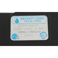 Beckett 1/4 HP Condensate Removal Pump CU55-1LUHT
