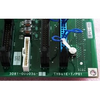 TEL Tokyo Electron Board TYB61E-1/PS1  3D81-000036-11 for T-3044SS Etcher