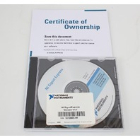 National Instruments SignalExpress Software v1.1.1 501280C-01 w/ Serial Number