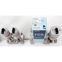 Fujikin FCS-4WS-F20 Mass Flow Controller w/ Valves .39~59 MPa N.C. O2 Gas
