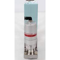 Fujikin FCS-4WS-F80 Mass Flow Controller w/ Valves .39~59 MPa N.C. CH2F2 Gas