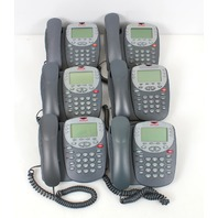 Lot of 6 Avaya 2410 Digital Display Business Telephone 700306483, 700381999