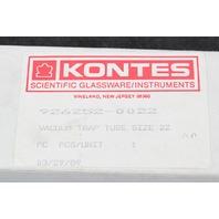 Kontes Vacuum Trap Tube Size 22 34/45 Joint 926252-0022