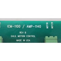 Galil Motion Control ICM-1100/ AMP-1140 Interconnect Module w/ 3 10A8 Amplifiers