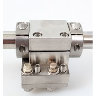 Linear Rail Shaft with Guide/ Support 24 IN x 0.750 IN