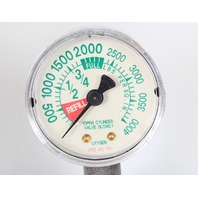 Western Medica Single Stage Flowmeter Style Oxygen Regulator M1-870-15FM