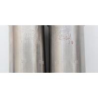 2 Weight Matched 50ml IEC Centrifuge Shield Cat 320 76.6g