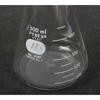 Corning Pyrex  Graduated Erlenmeyer Flask 4980-500 500 mL