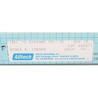 VICI Precision Sampling Syringe Pressure Lok Series CG-130 Fixed Needle 10ul 130022