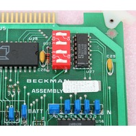 Beckman Main Microprocessor Control Board for L8-M Ultracentrifuge P/N 345624-B