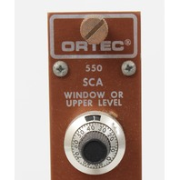 EG&G Ortec 550 SCA Single Channel Analyzer NIM