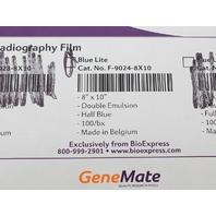 "GeneMate Blue Lite Autoradiography Film 8x10"" 100 Sheets F-9024-8X10"