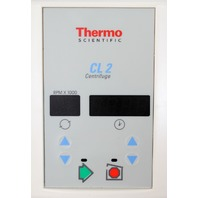 Thermo IEC Centra CL2 Centrifuge Control Panel/Cover Plate