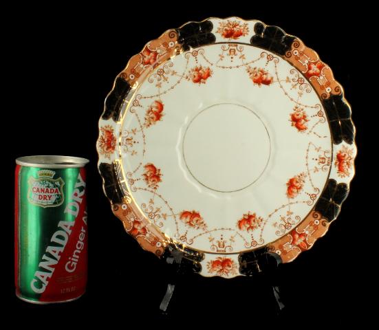 Antique Pair Rare Royal Albert Crown China Dinner Plates Unusual Pattern & Antique Pair Rare Royal Albert Crown China Dinner Plates Unusual ...