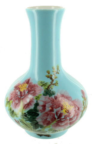 Vintage Japanese Hand Painted Flower Vase Turquoise Blue Glaze ... on painted flower stepping stones, painted flower tools, painting glass vases, painted wooden vase, painted flower murals, painted flower buckets, painted flower cards, painted flower purses, painted flower trees, painted flower ornaments, painted flower benches, painted flower pitchers, painted flower frames, painted flower planters, painted tea sets, painted flower art, painted flower arrangements, painted flower wreaths, painted flower shoes, painted flower bracelets,