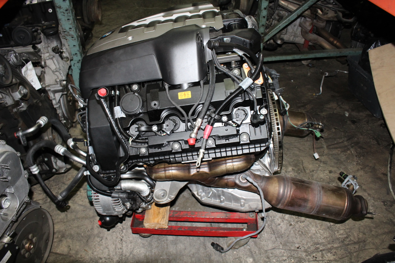 2009 bmw 650i engine