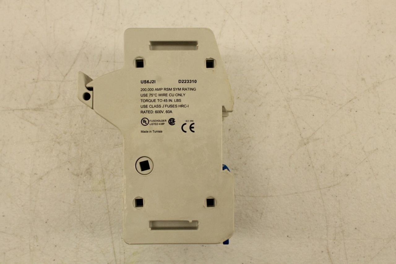 ... Ferraz Shawmut US6J21 Fuse Holder 2 Pole Finger Safe New (Box Of 3) ...