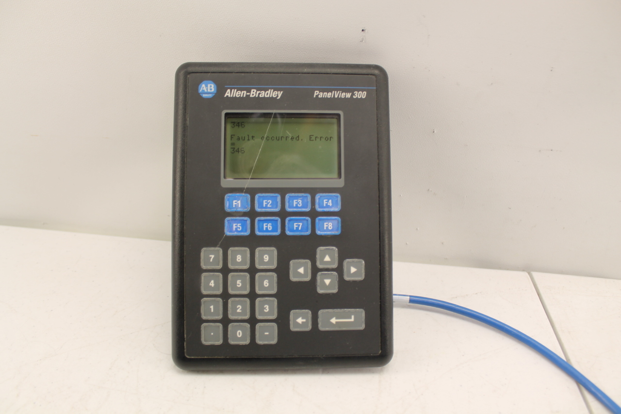 Allen Bradley Panelview 300 2711-K3A17L1 (See description)