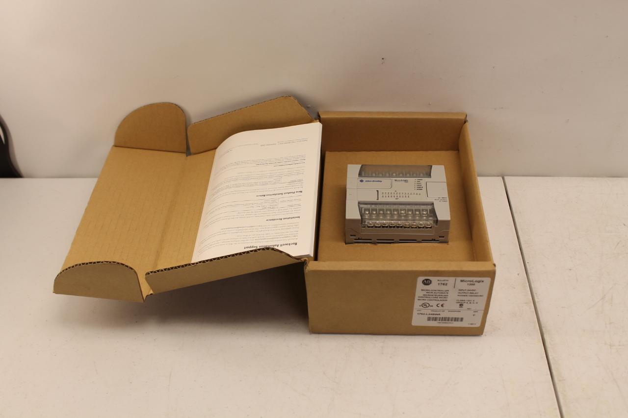 Allen Bradley 1762-L24BWA Micrologix 1200 New In Box