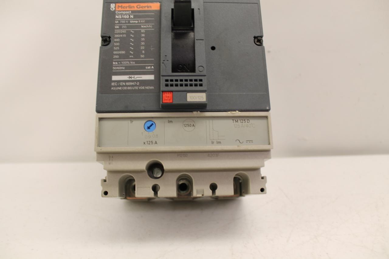 MERLIN GERIN compact NS 160 N  NS100-160-250 N//H//NA