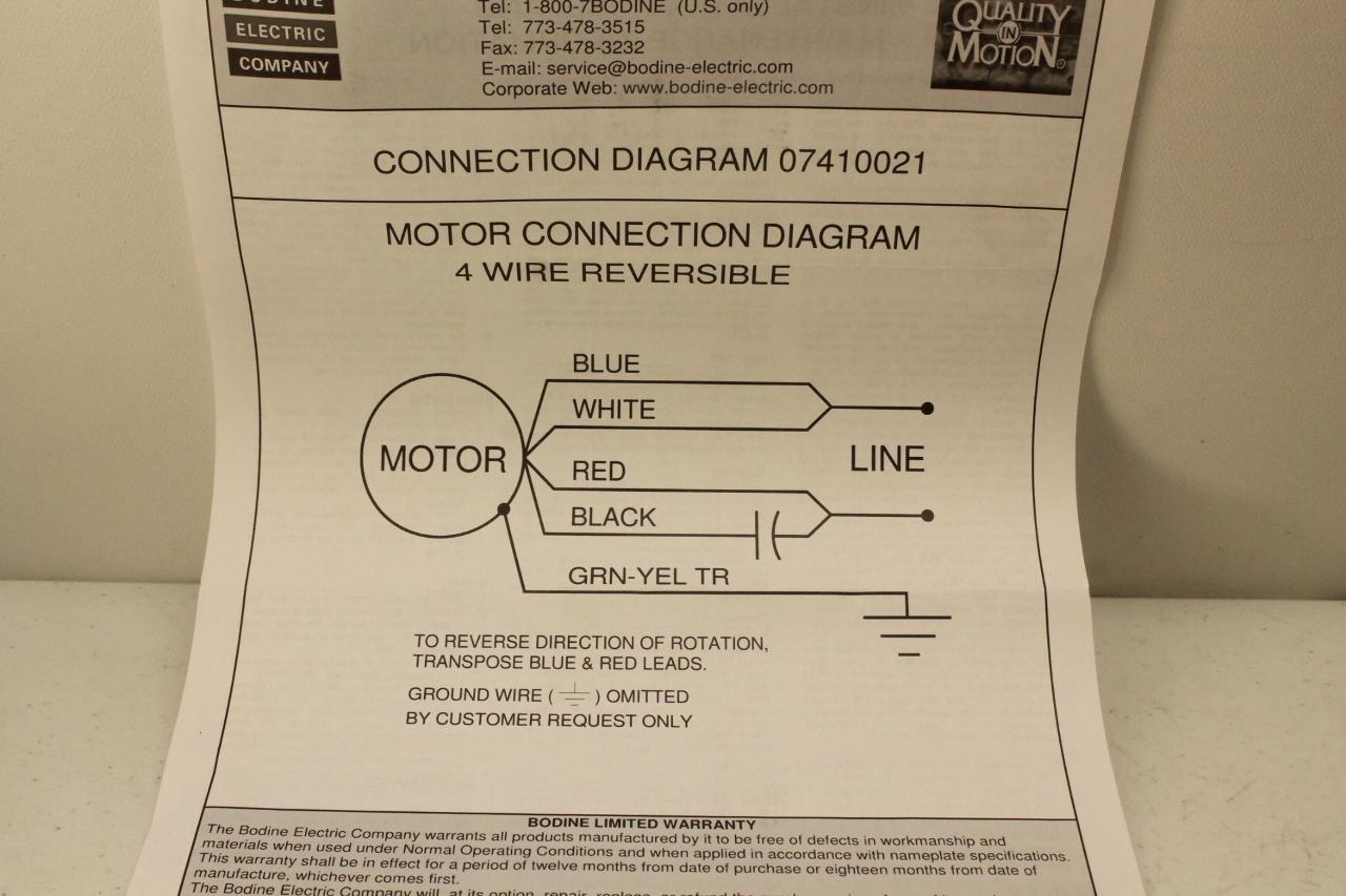 Bodine Torque Motor 5625 1800 RPM 115V New In Box on