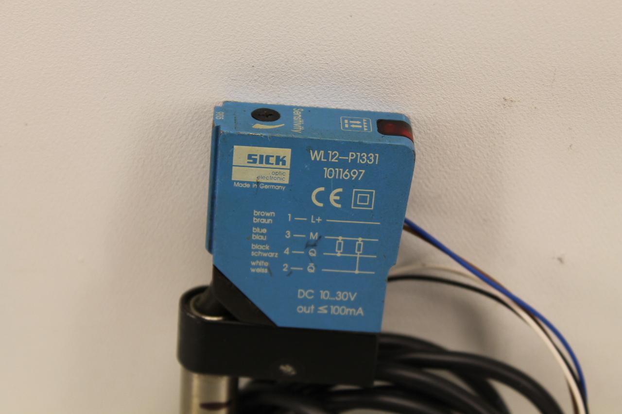 Sick WL12-P1331 Photoelectric Sensor | PLC Surplus Supply, LLC