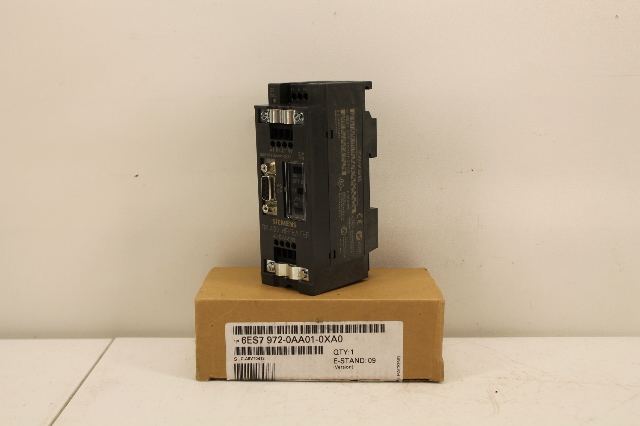 SIEMENS RS-485 REPEATER 6ES7972-OAAO1-OXAO E-STAND:6