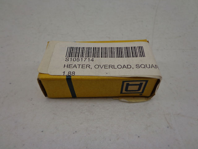 Lot of 2 Square D B1.88 Overload Heaters