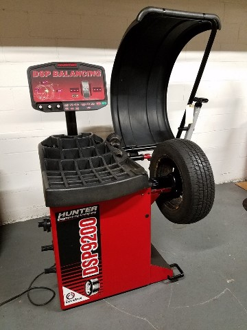 Hunter DSP9200 Wheel balancer